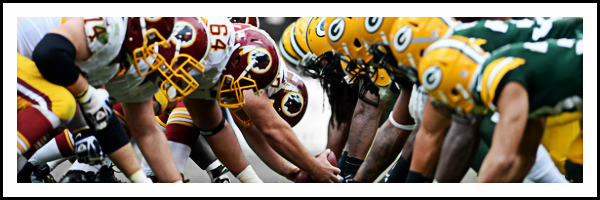 Game 3 - Packers. Do the Skins show up?
