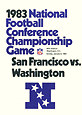 1983 NFC Championship Media Guide